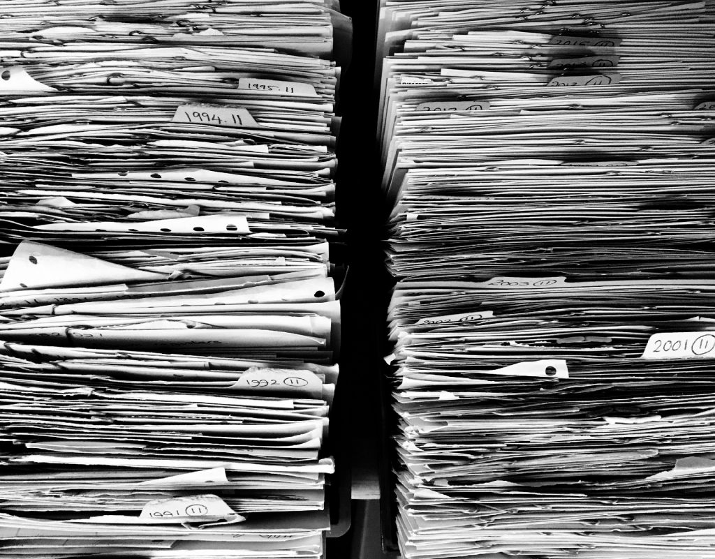 Carian dokumen hilang